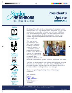 June 2015 Senior Neighbors Newsletter