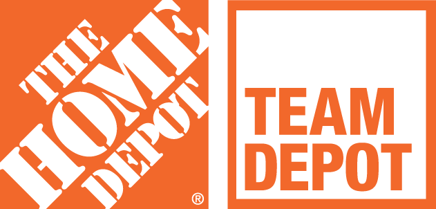 Home Depot and Team Depot Logo