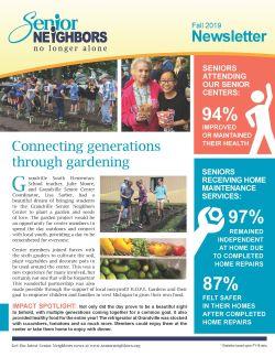 Fall 2019 Senior Neighbors Newsletter