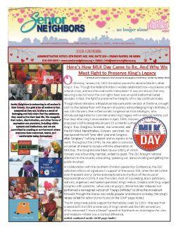 February 2021 Senior Center Newsletter