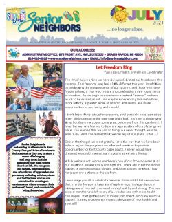 July 2021 Senior Center Newsletter