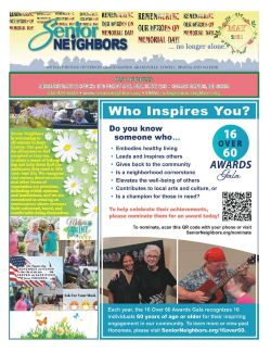 May 2021 Senior Center Newsletter