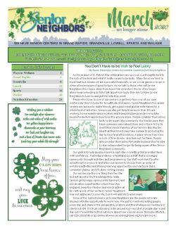 March 2020 Senior Center Newsletter