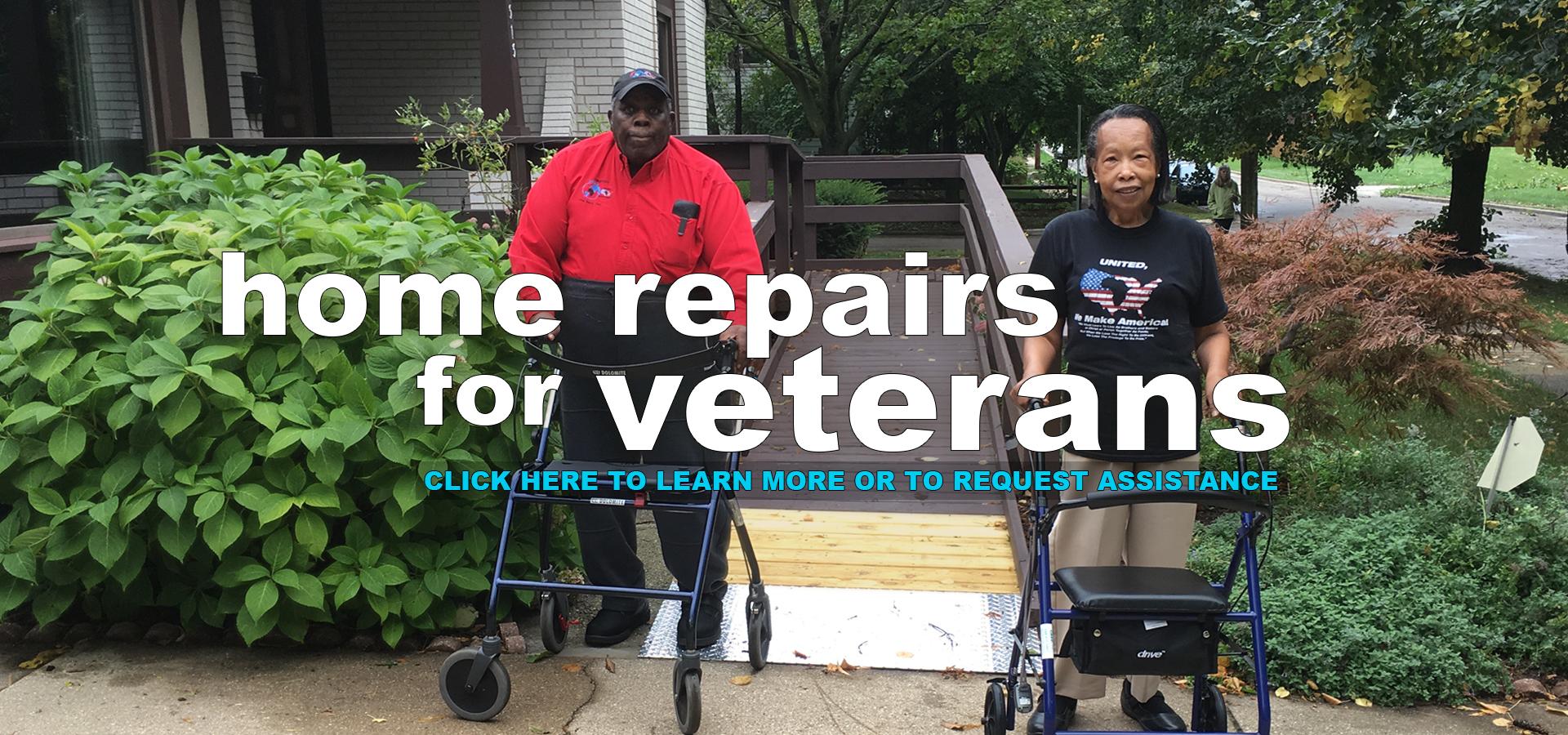 Home Repairs for Veterans